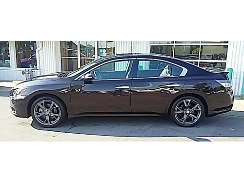 2014 NISSAN MAXIMA SV LOADED 1-Owner 4-New Tires Sunroof Rear View Camera Lthr Dual Climate Ctr