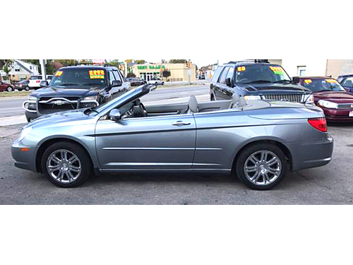 2008 CHRYSLER SEBRING LIMITED CONVERTIBLE MP3-CD Keyless Entry Convertible Fun Call 1-414-327-29