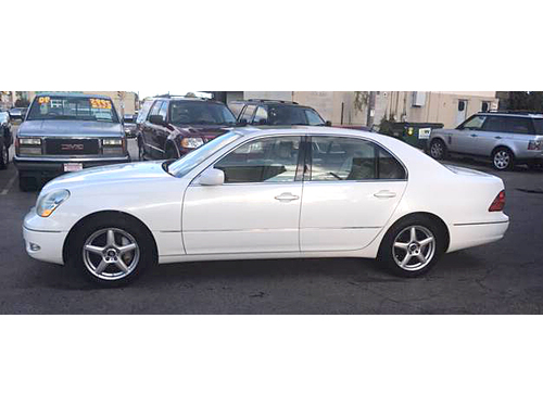 2002 LEXUS LS430 Loaded Leather Seats Woodgrain Accents Sweet Ride Call 1-41