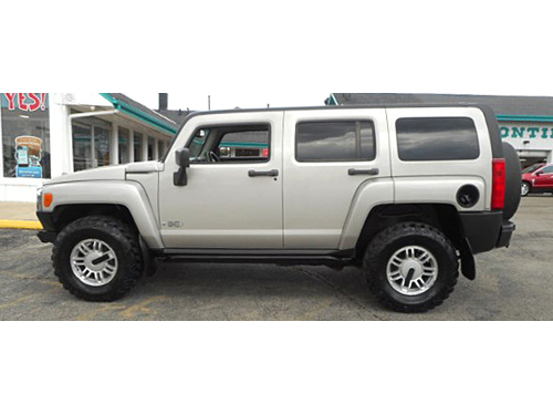 2006 HUMMER H3 4X4 Front Winch Bluetooth Sunroof Tow Package Go Anywhere Lifetime Engine Warran