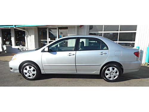 2006 TOYOTA COROLLA CE 1-Owner  Only 55000 ORIGINAL Miles Pwr Windows  Locks New Serpentine B