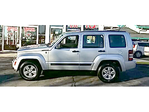 2011 JEEP LIBERTY SPORT 4X4 New Brakes Steering Wheel Ctrls Bluetooth Lifetime Engine Warranty On
