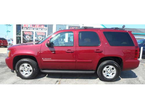 2007 CHEVROLET TAHOE LT 4WD Front  Rear Heated Leather Seats 3rd Row Seating Sunroof Pwr Driver