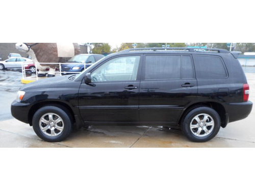 2007 TOYOTA HIGHLANDER 1-Owner With Good Miles 3rd Row Seating Sunroof Keyless Entry Cruise  CD