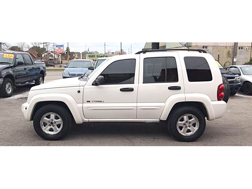 2003 JEEP LIBERTY LIMITED 4WD Leather Seats Sunroof Power Seats Tow Package Nice Call 1-414-327
