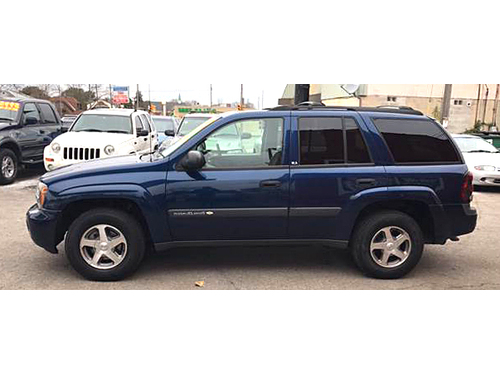 2004 CHEVROLET TRAILBLAZER LS 4WD Power Driver Seat Sunroof Tow Package Priva