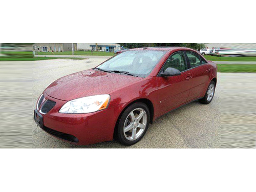 2009 PONTIAC G6 V6 Low Miles  LOADED Steering Wheel Ctrls Sunroof Aux Input 17 Alloy Wheels C