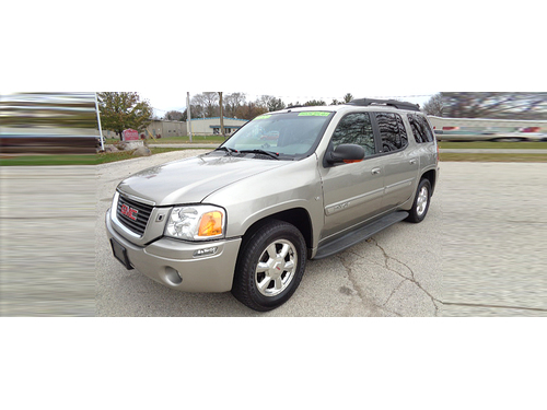2003 GMC ENVOY XL SLT 4X4 Fully Power Equipped Heated Leather Seats Polished Wheels Running Board