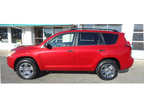 2007 TOYOTA RAV4 1-Owner New Front Brakes New Muffler Roof Rack Lifetime Engine Warranty On Most