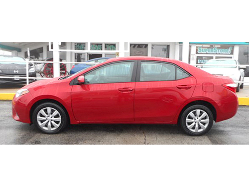 2015 TOYOTA COROLLA LE 1-Owner W Clean Carfax Steering Wheel Ctrls Bluetooth Rear View Camera A