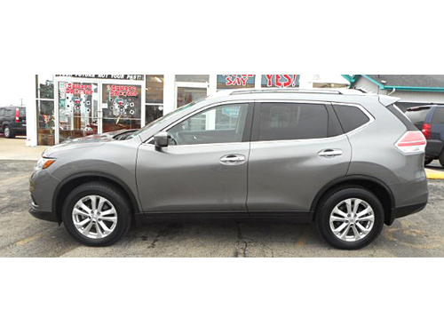 2016 NISSAN ROGUE SV AWD 1-Owner  Clean Carfax Push Button StartTouchscreen Bluetooth Rear View