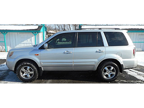 2006 HONDA PILOT EX-L 4WD 1-Owner W Clean Carfax 3rd Row Seating Pwr Driver Seat Keyless Entry