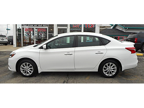 2017 NISSAN SENTRA S 1-Owner W Clean Carfax Only 3K Miles Steering Wheel Ctrls Keyless Entry Li