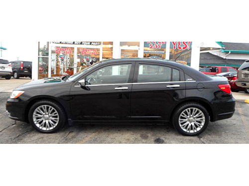 2012 CHRYSLER 200 LIMITED 1-Owner Pwr Driver Seat Steering Wheel Ctrls Keyless Entry Cruise Lif