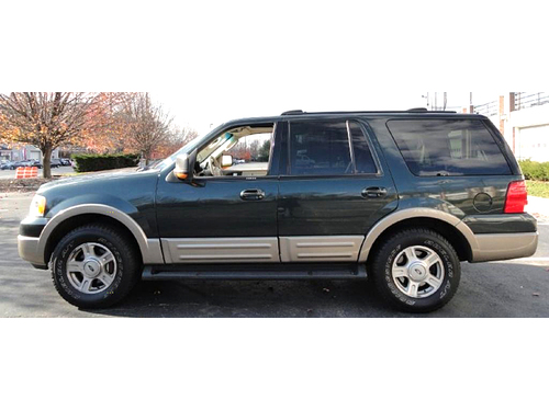 2003 FORD EXPEDITION EDDIE BAUER 4WD V8 Leather Seats Power Adj Pedals Clima