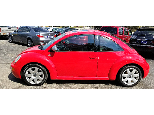 2002 VW BEETLE GLX 1-Owner With Just 48k Miles Turbocharged Leather Seats Sunroof Alloy Wheel