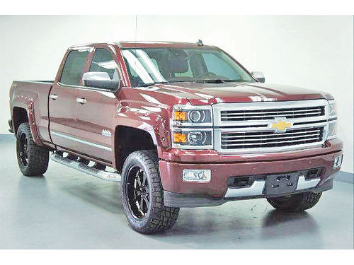 14 CHEVY SILVERADO 1500 HIGH COUNTRY 4X4 AC DUAL ALLOYS AUTO  ESTRIBOS PIEL QUEMAC 4 PTS