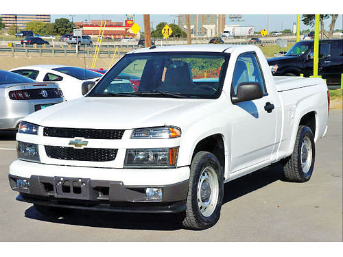 12 CHEVY COLORADO WORK TRUCK 4 CIL AC DUAL 2 PTS 817 717-2338 525ENG