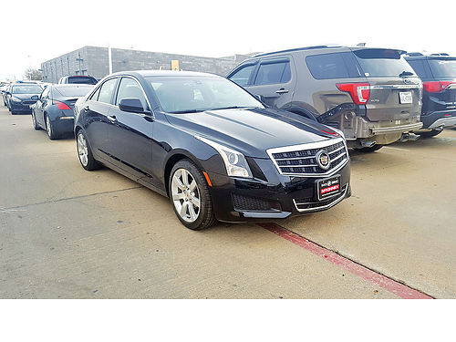 13 CADILLAC ATS AC DUAL ALLOYS AUTO  CAMARA TRASERA LUXURY PACKAGE PIEL 4PTS 972 854-5040