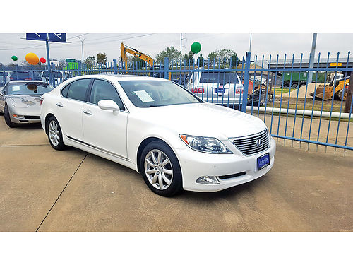 07 LEXUS LS 460 AC DUAL ALLOYS AUTO  LUXURY PACKAGE PIEL QUEMAC 214 442-0770 250PAGOS