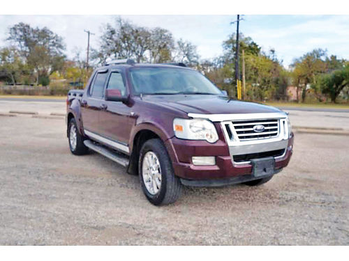 07 FORD EXPLORER SPORT TRAC LIMITED AC DUAL ALLOYS AUTO  PIEL 4 PTS A19285 214 296-4026 1