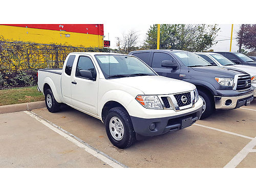 14 NISSAN FRONTIER AC DUAL ALLOYS AUTO  SUPER LIMPIA 2PTS EXT CAB 817 617-5363 795ENG