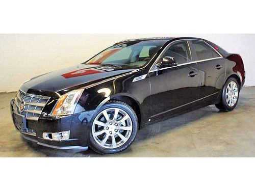 08 CADILLAC CTS AUTO  V6 RWD FULLY LOADED 214 736-9492 8999