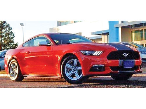 15 FORD MUSTANG 2 PTS UN DUENO ECOBOOST CH6423 469 351-2100 330MES