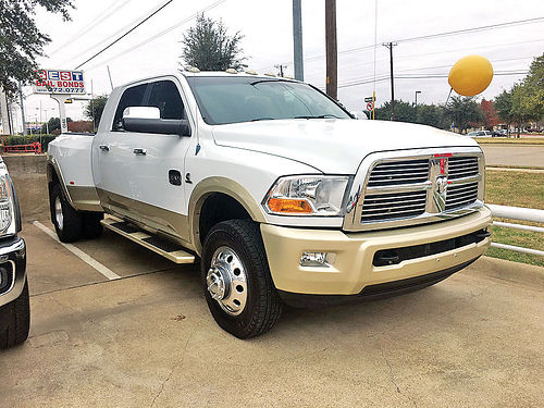 12 DODGE RAM 3500 LARAMIE LONG HORN DIESEL ESTRIBOS PIEL QUEMAC TURBO 4PTS 469 789-3311 50
