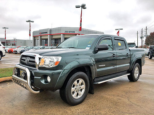 10 TOYOTA TACOMA AC DUAL ALLOYS ESTRIBOS V6 4 PTS BED COVER 52K MILLAS 93714A 866 374-74
