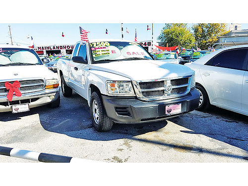 08 DODGE DAKOTA AC DUAL AUTO V6 2 PTS 281 397-3024 5995