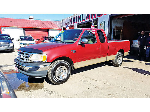 00 FORD F-150 EXT CAB AC DUAL ALLOYS AUTO 2 PTS 281 397-3024 5495