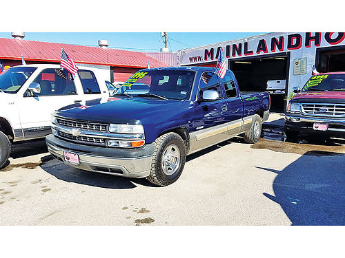 01 CHEVY SILVERADO EXT CAB AC DUAL ALLOYS AUTO 2 PTS 281 397-3024 4995