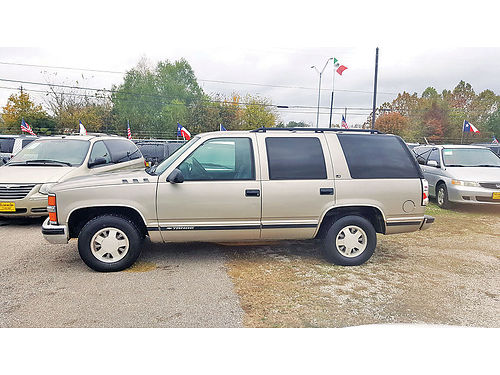 99 CHEVY TAHOE  713 694-5665 1500