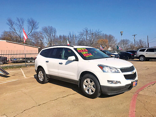 10 CHEVY TRAVERSE 3RA FILA AC DUAL ALLOYS AUTO BLUETOOTH CD CRUCERO AMFM 242196A 214 7