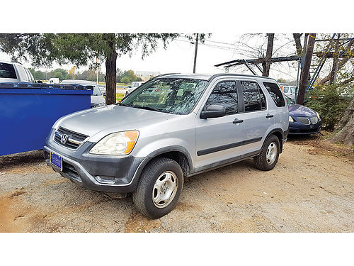04 HONDA CR-V AC DUAL ALLOYS AUTO 4 PTS 444 133-4693 2950