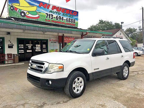 07 FORD EXPEDITION XLT 3RA FILA AC DUAL AUTO AC TELEC CD 281 377-6840