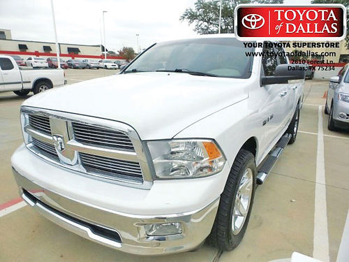 10 DODGE RAM 1500 LONG HORN AC DUAL ALLOYS AUTO ESTRIBOS V8 4PTS 866 213-4016 116PAGOS