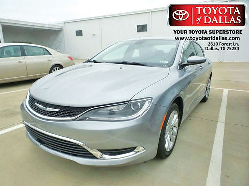 15 CHRYSLER 200 LIMITED 4 CIL AC DUAL ALLOYS AUTO PIEL 4 PTS FN530062 866 213-4016 84P