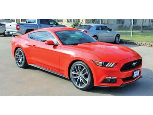 15 FORD MUSTANG AUTO 2 PTS RINES DE 20 CD CRUCERO AC AMFM TURBOCHARGED RWD SPOILER UN