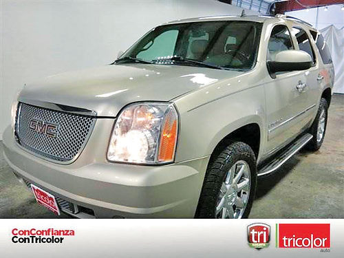 09 GMC YUKON DENALI 3RA FILA AUTO LUXURY PACKAGE PIEL AC TELEC CD 218309 713 793-6359