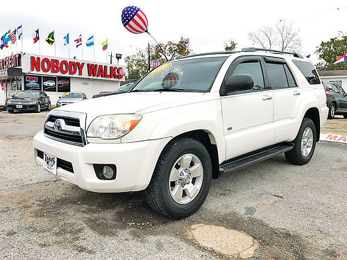 07 TOYOTA 4RUNNER SR5 ALLOYS AUTO 4 PTS AC TELEC CD VAJUST 713 574-5050 1495ENG