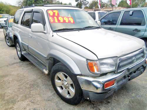 97 TOYOTA 4RUNNER LIMITED AUTO AC TELEC CD 8692 281 447-0002 1700