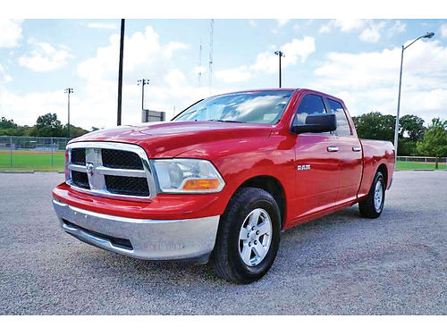 10 DODGE RAM 1500 SLT AC DUAL ALLOYS AUTO 4 PTS 134469 214 296-4026 15995