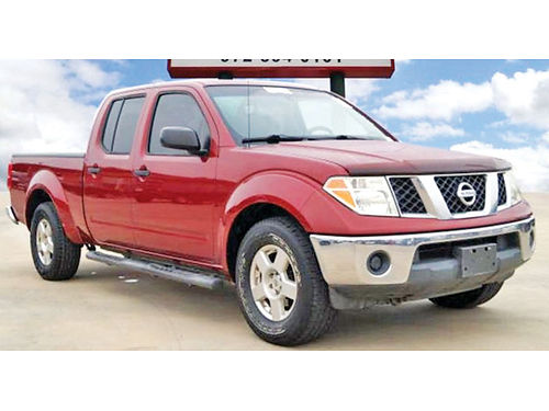 08 NISSAN FRONTIER SE BAJAS MILLAS MANUAL V6 TOW PKG CREW CAB 972 854-5033 2000ENG
