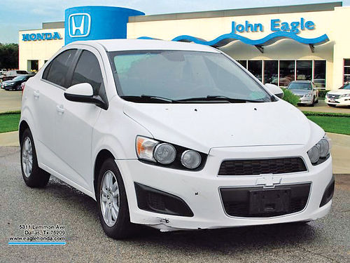 12 CHEVY SONIC 2LT AC DUAL ALLOYS AUTO BLUETOOTH CD TODO ELECTRICO H17259A 877 935-9010 1