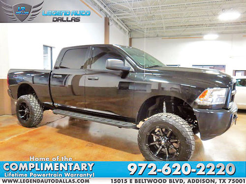 16 DODGE RAM 2500 TRADESMAN AUTO BLUETOOTH CUSTOM RIMS ESTRIBOS LIFTED CD TODO ELECTRICO 972