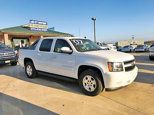 07 CHEVY AVALANCHE LT ALLOYS BLUETOOTH ESTRIBOS PIEL FLEX FUEL POLARIZADO PROTECCION DE CAJA