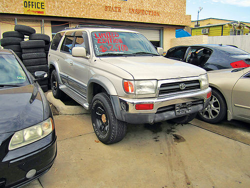 98 TOYOTA 4RUNNER LIMITED 4X4 AC DUAL AUTO PIEL SUPER LIMPIA 4PTS 214 646-8324 2500