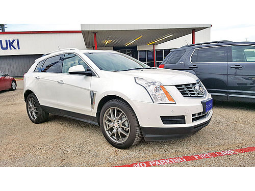 13 CADILLAC SRX AC DUAL ALLOYS AUTO BLUETOOTH CUSTOM RIMS LUXURY PACKAGE PIEL QUEMAC SISNA